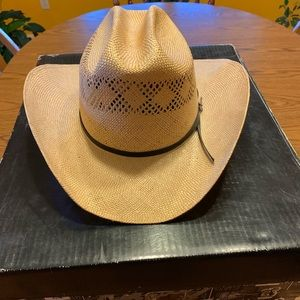 Vintage Stetson Handwoven Sisal Hat
